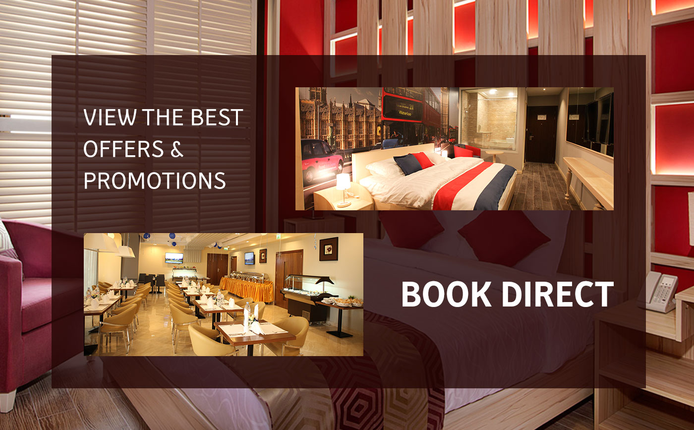 View the best Offers and promotions - Book Direct