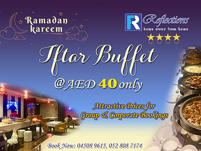 Iftar Buffet @ AED 40 Only
